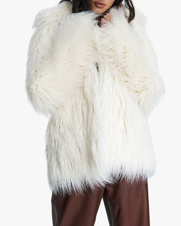rag & bone Adelyn Reversible Faux Fur Coat 3