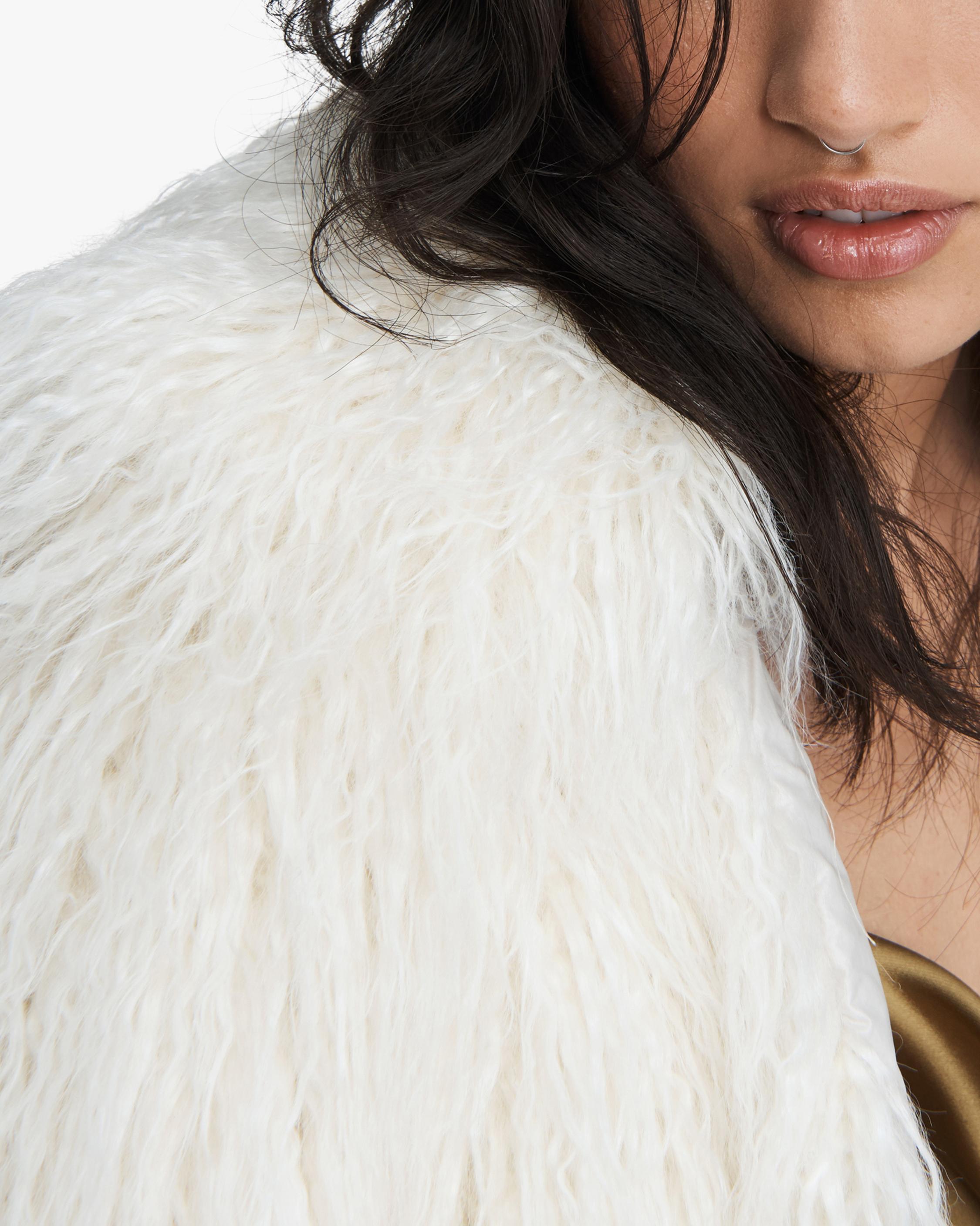 rag & bone Adelyn Reversible Faux Fur Coat 4