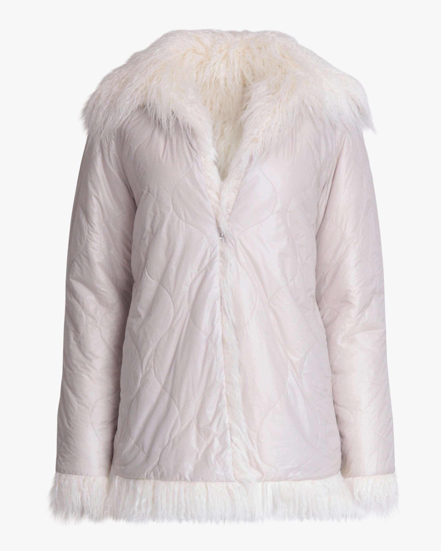 rag & bone Adelyn Reversible Faux Fur Coat 5