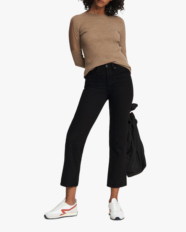 rag & bone Maya High-Rise Ankle Straight Jeans 1