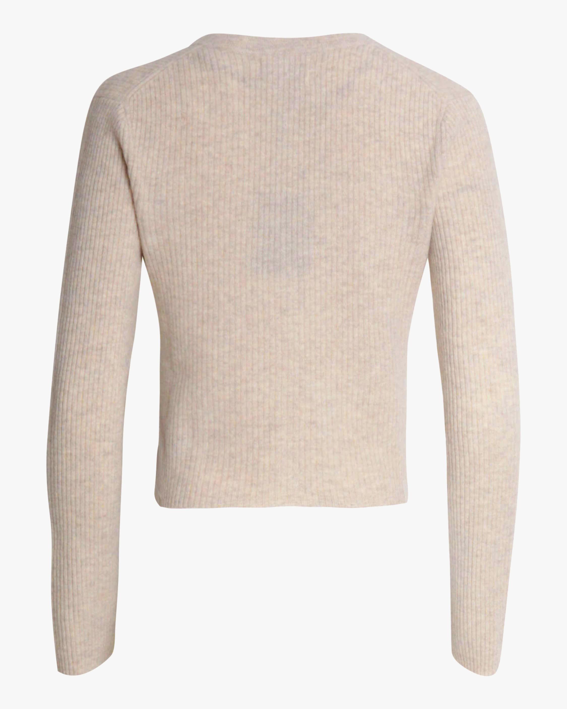Naadam Cropped V-Neck Cashmere Cardigan 1