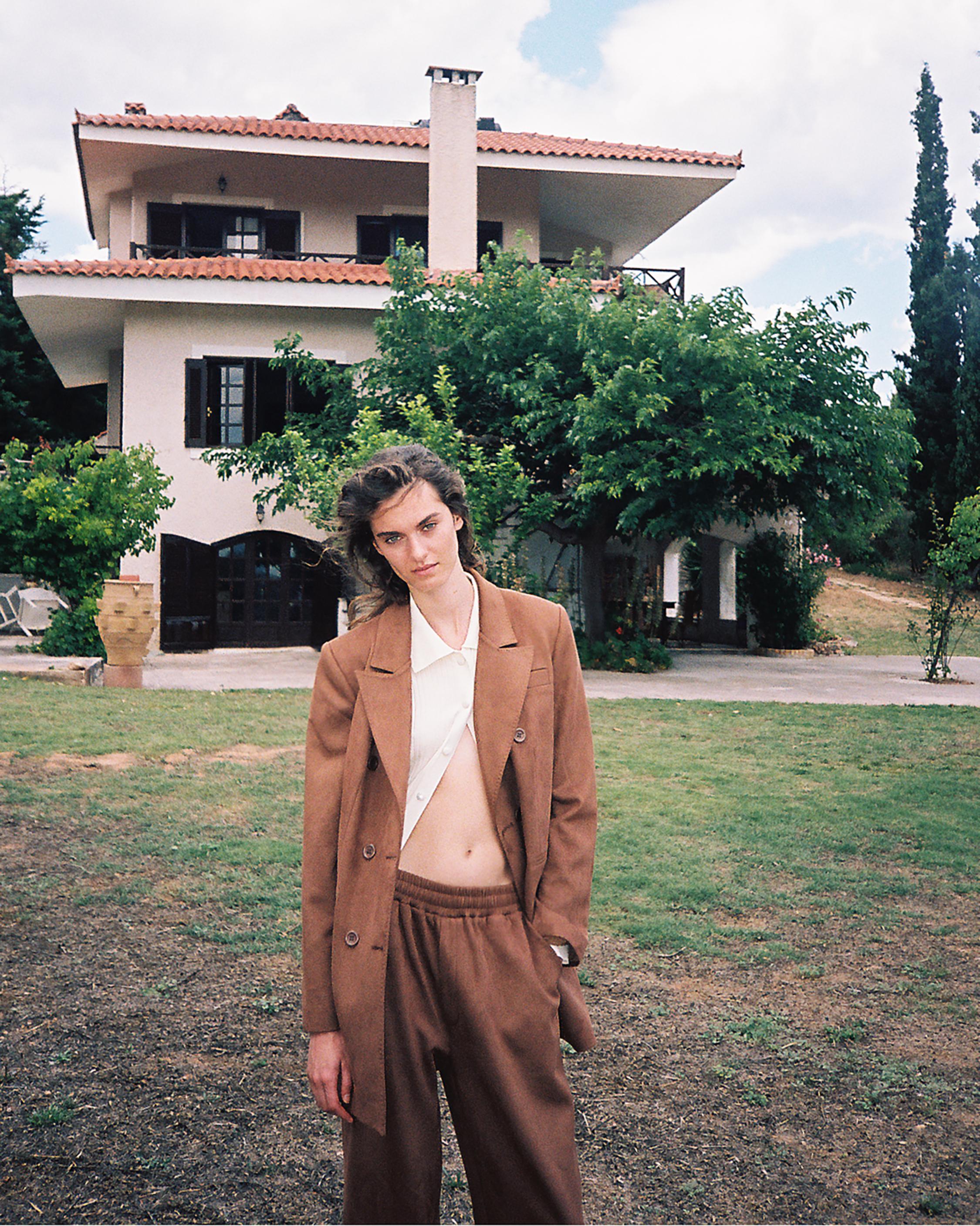 Marei 1998 Lunaria Vegan Suede Pants 1