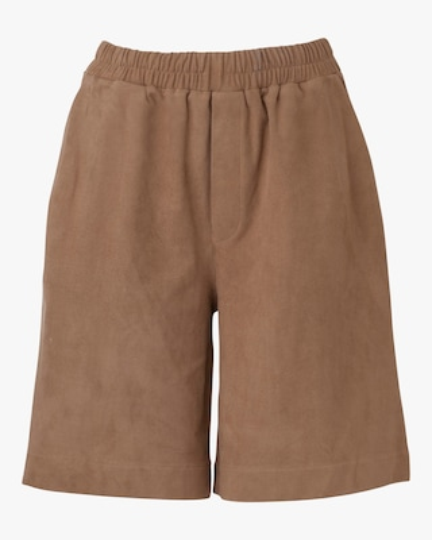 Marei 1998 Dianthu Vegan Suede Shorts 1