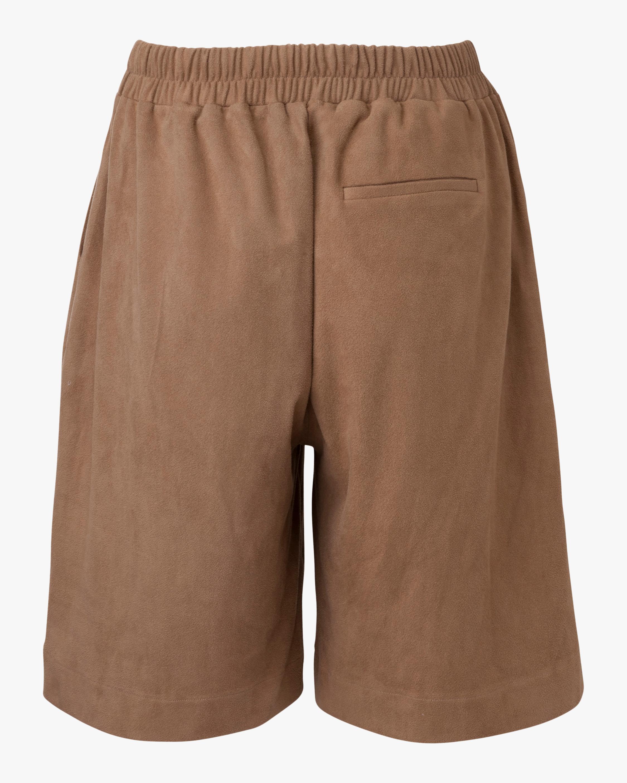 Marei 1998 Dianthu Vegan Suede Shorts 2