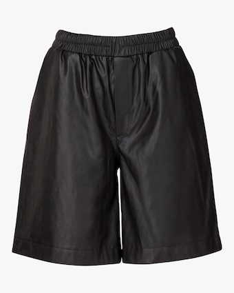 Marei 1998 Dianthu Vegan Leather Shorts 1