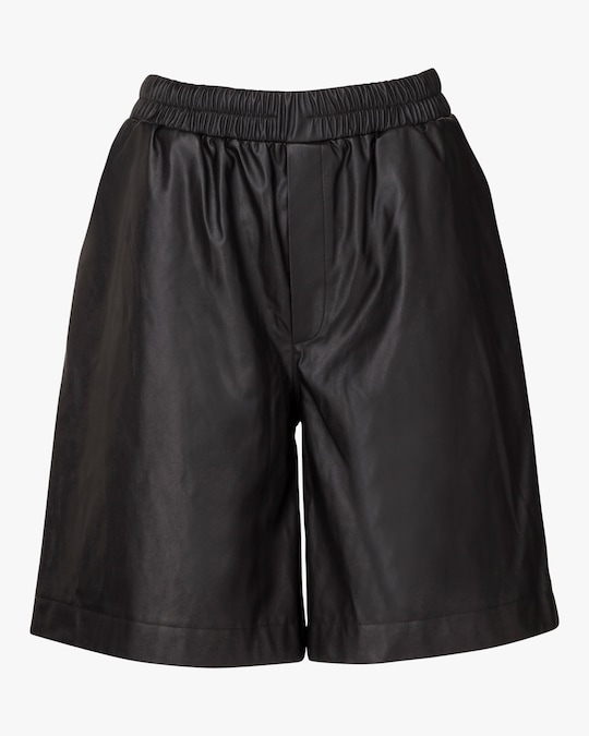Marei 1998 Dianthu Vegan Leather Shorts 0