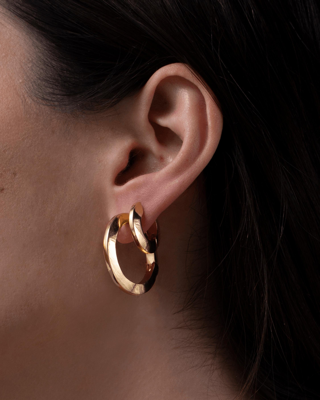 Jenny Bird Toni Hinged Hoop Earrings 2