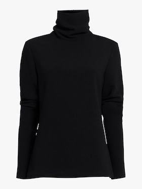 Elongated Sleeve Turtleneck