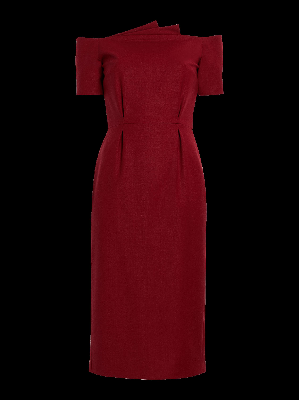 Fan Pleated Dress