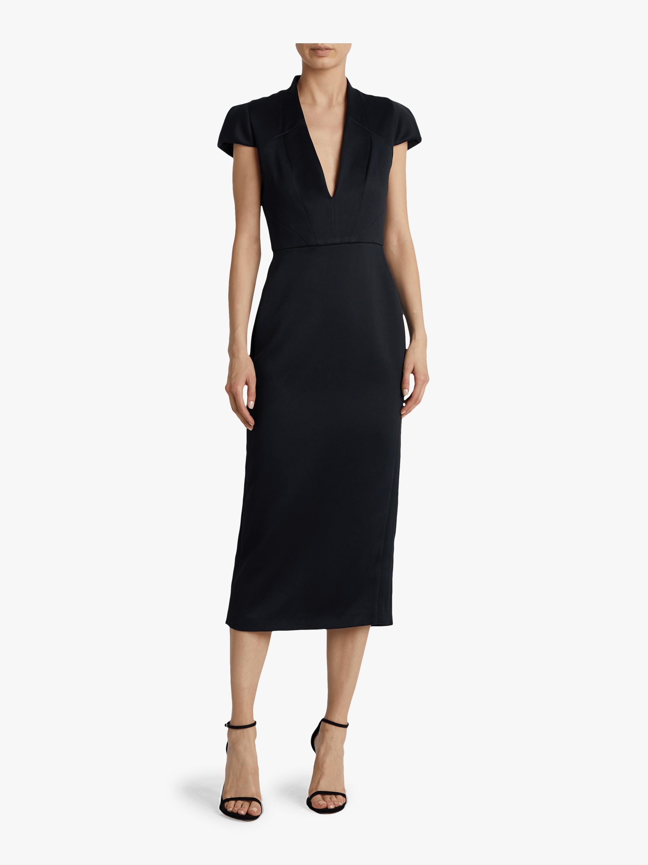 Linear Seam Dress