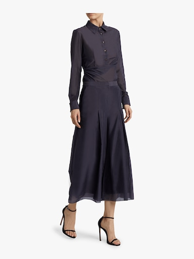 Inverted Pleat Culottes