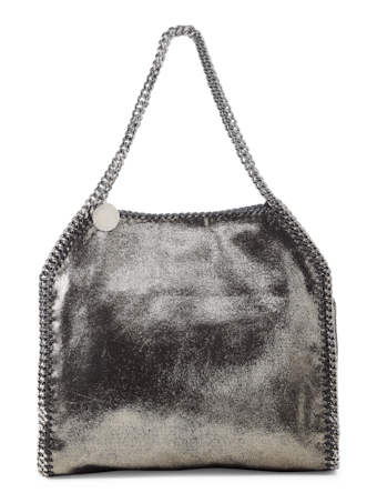 Falabella Shiny Dotted Chamois Tote