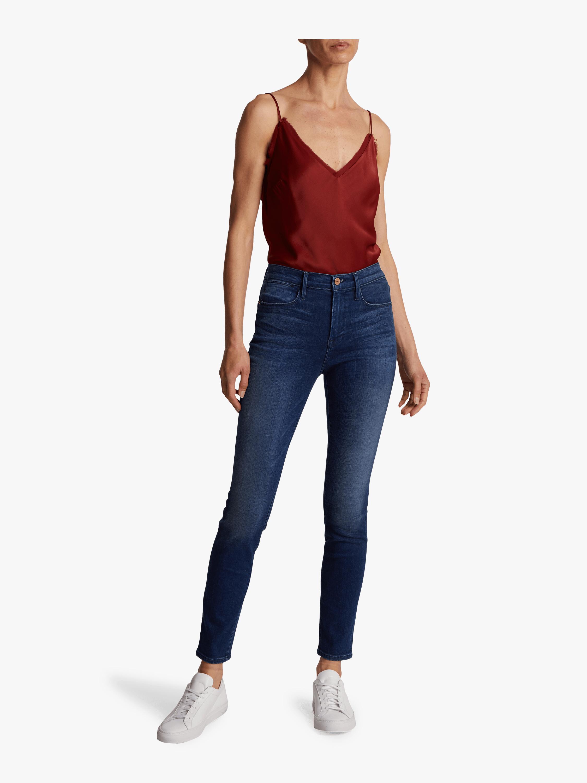 Frame Le High Skinny Jeans 1