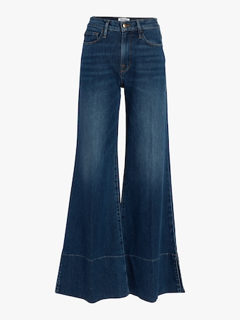 Frame Palazzo Panel Slit Jeans 1