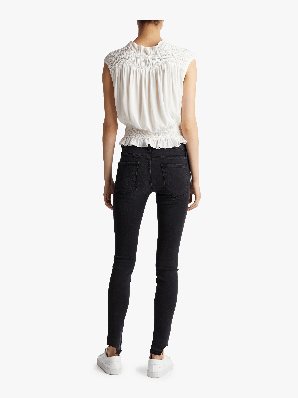 Le Skinny De Jeanne Crop Hem Jeans Frame