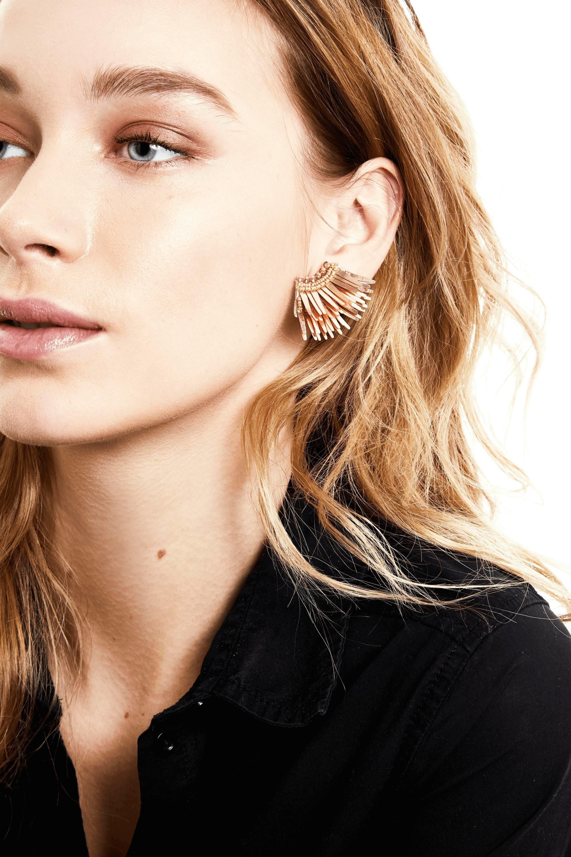 Mignonne Gavigan Mini Madeline Earrings Olivela