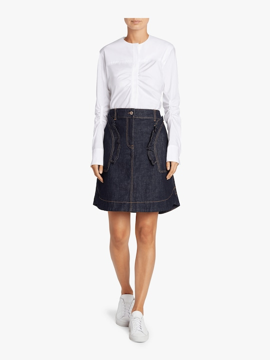 Carven Denim Mini Skirt 1