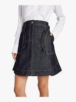 Carven Denim Mini Skirt 3