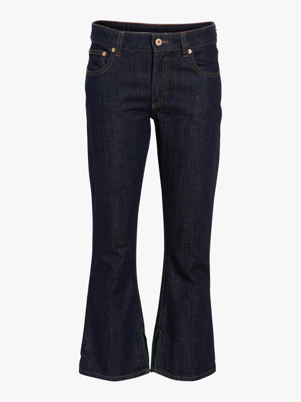 Carven Crop Flare Jeans 0