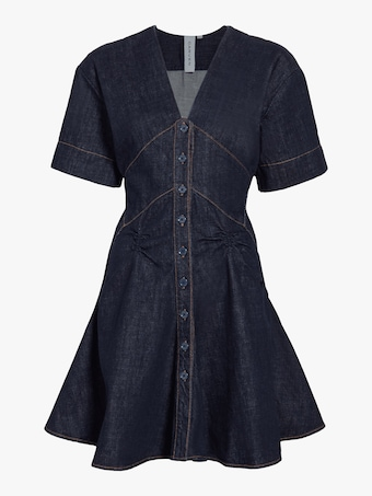 Carven Denim Dress 1