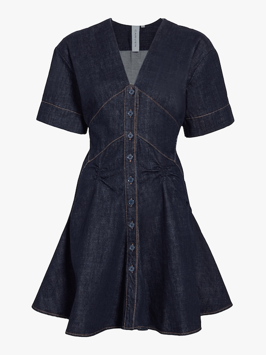 Carven Denim Dress 0