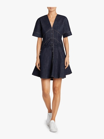 Carven Denim Dress 2