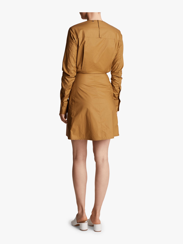 Carven Poplin Wrap Dress 3