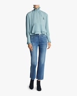 Carven Ruffle Top 1