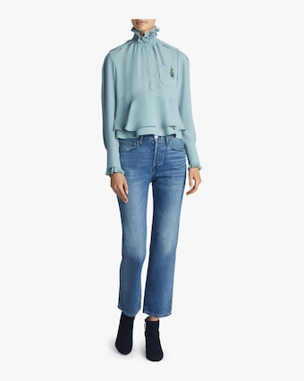 Carven Ruffle Top 2