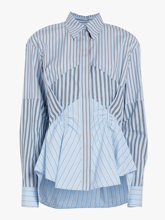 Carven Asymmetric Shirt 1