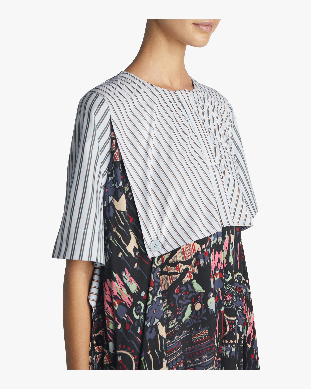 Carven Mixed Print Dress 2