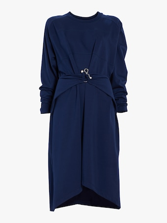 Carven Draped T-shirt Dress 1