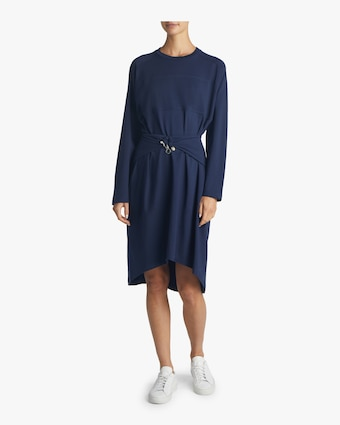 Carven Draped T-shirt Dress 2