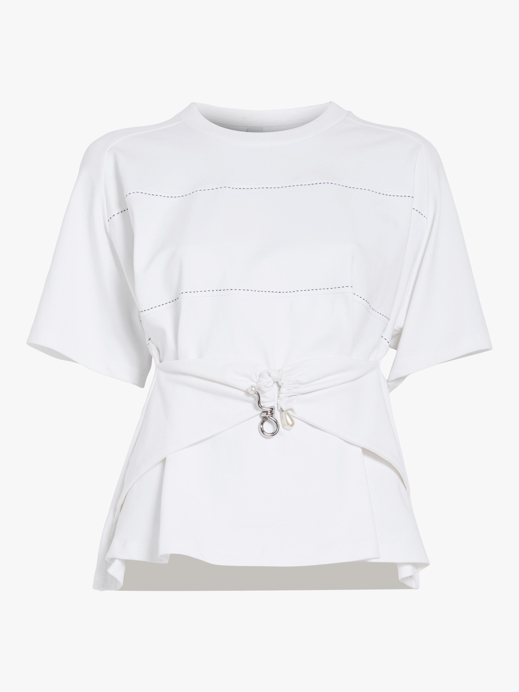 Draped T-shirt