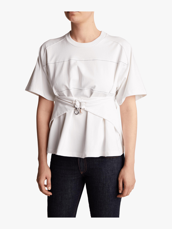 Carven Draped T-shirt 2