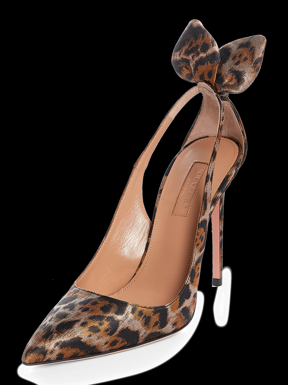 Leopard Jacquard Deneuve Pump