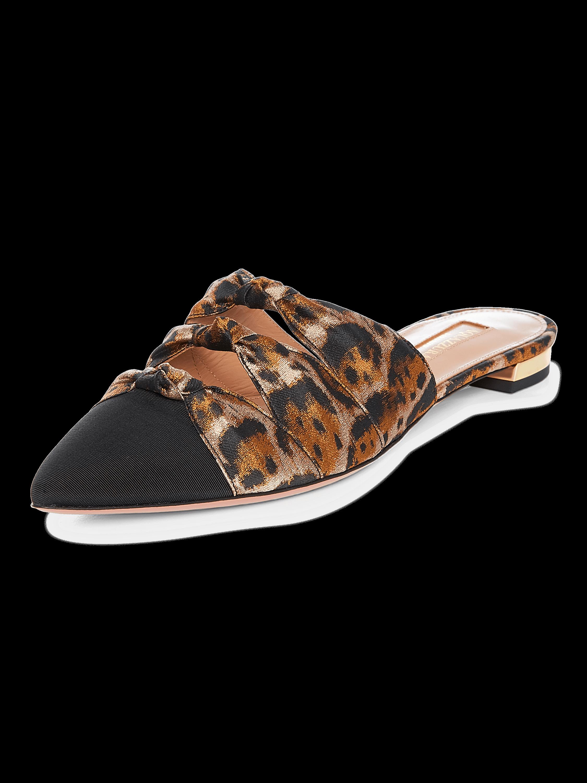 Leopard Jacquard Mondaine Mule