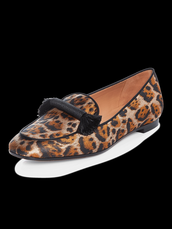 Leopard Jacquard Vivi Moccasin