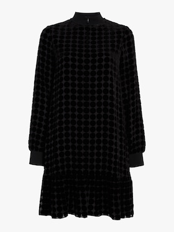 Textured Trapeze Dress