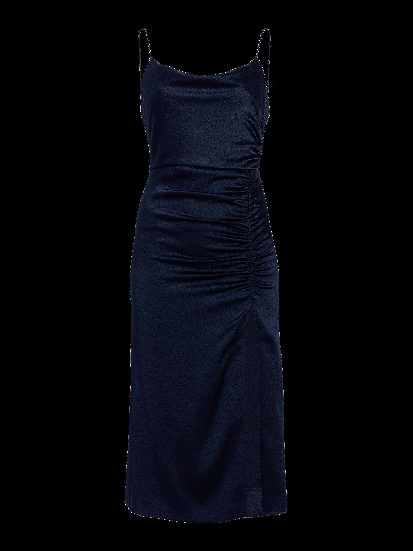 Dion Ruched Midi Slip Dress