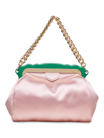 Aliza Satin Clutch