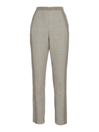 Wool Tailored Cropped Pants