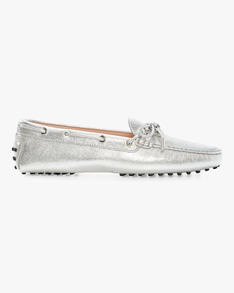 Tod's Heaven Metallic Laccetto Loafer 1