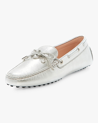 Tod's Heaven Metallic Laccetto Loafer 2
