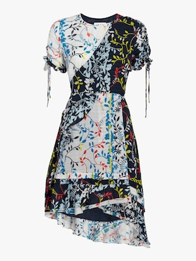 Siena Floral Vines Print Dress