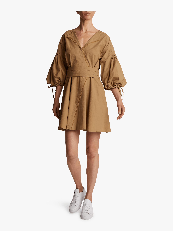 Rachele Cotton Poplin Dress