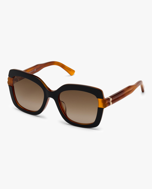 Bally Black Square Sunglasses 2