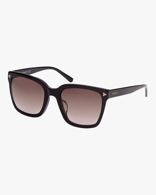 Bally Black Square Sunglasses 0