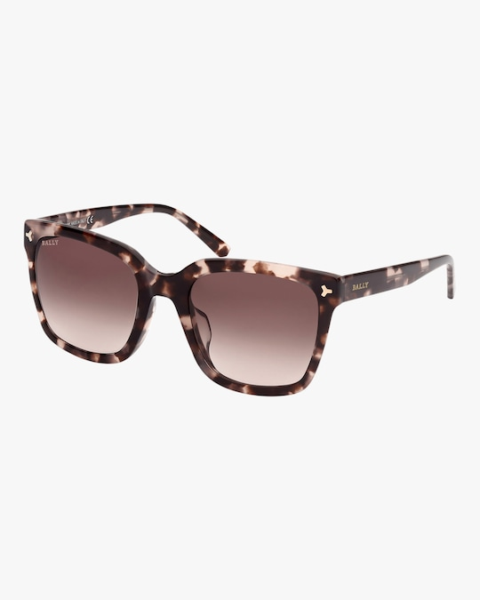 Bally Havana Square Sunglasses 0
