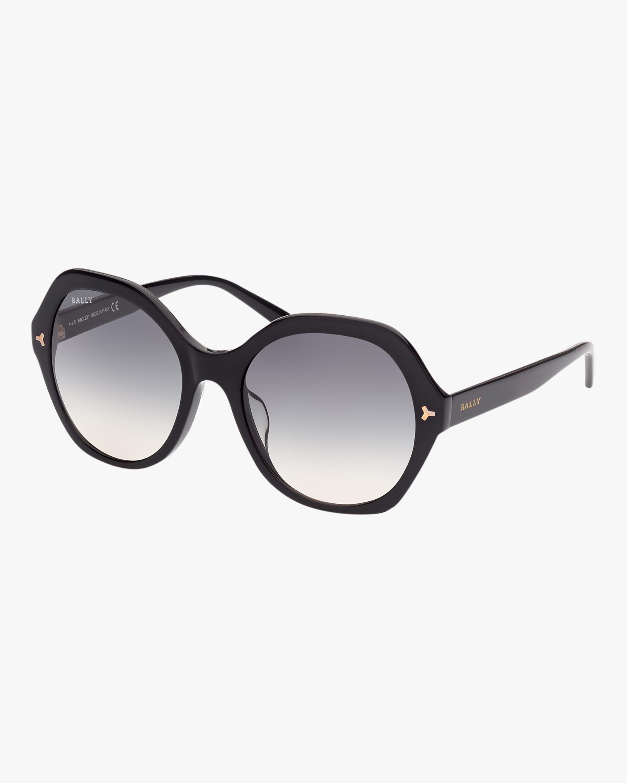 Bally Black Oversized Sunglasses 2